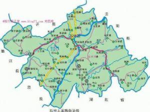 万州区地图
