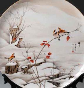 河北唐山彩瓷艺术展