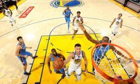Warriors silence Thunder in NBA opener