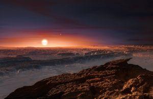 据科学家推测,比邻星b上有可能存在液态水,不过其环境中辐射强度可能会很高