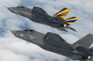 美英以首次进行F-35联合演习