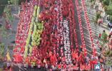 2019年聊城mini马拉松热力开跑 数千人参赛助力文明城市创建