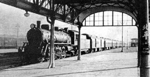 1938年由奉天开往北平的列车