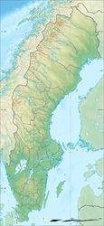 瑞典地形图