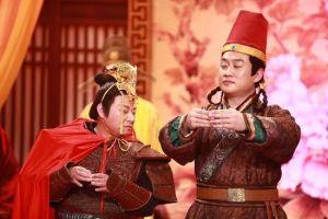 邵峰在央视《谢天谢地你来啦》挑战即兴表演中