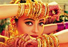 迷人的印度舞蹈少女