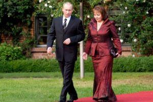 普京和他的前妻