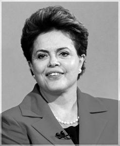 巴西总统迪尔玛·罗塞夫资料片
