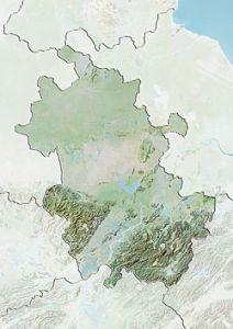 安徽省地形图
