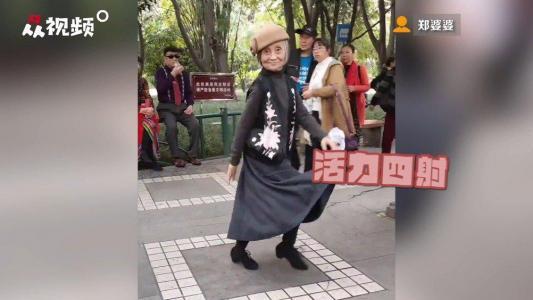 岁月从不败美人,83岁网红奶奶太美了