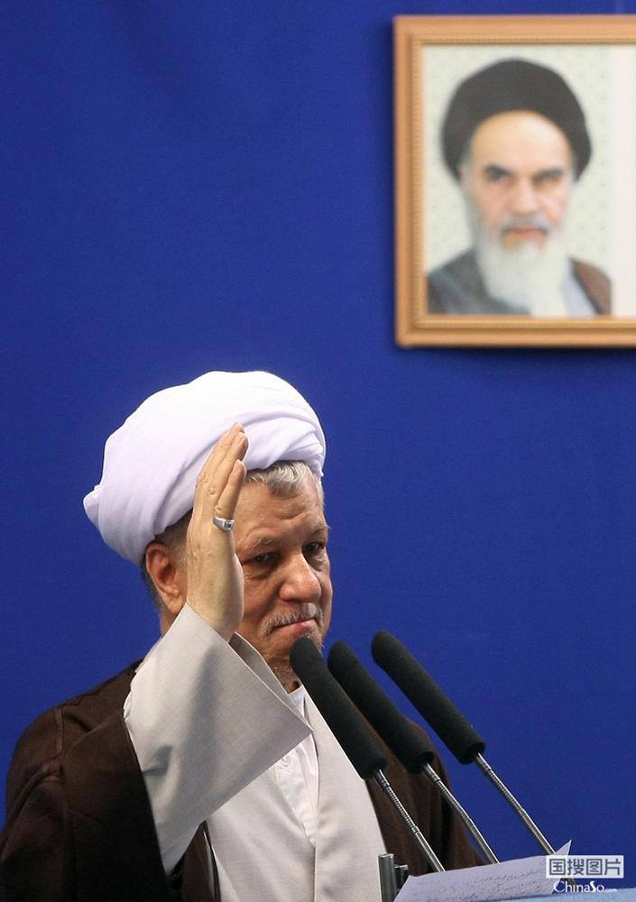 伊朗前总统拉夫桑贾尼因心脏病去世 享年82岁