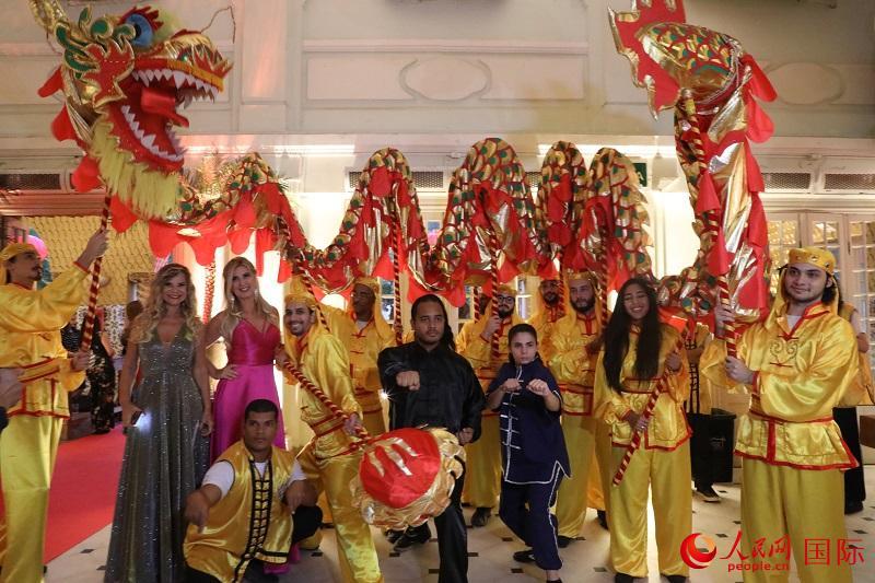 巴西里约举办春节庆祝活动