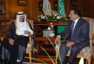 阿卜杜拉与埃及总统