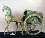 东汉铜马车