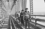 还在跑火车的百年黄河大桥,就咱济南有!曾4次被炸