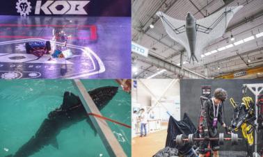 Futuristic robots dazzle audiences at WRC