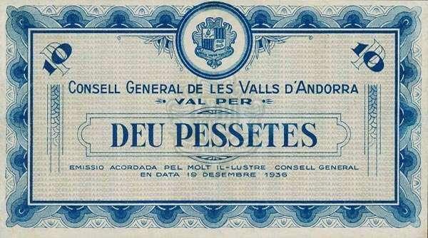 安道尔纸币