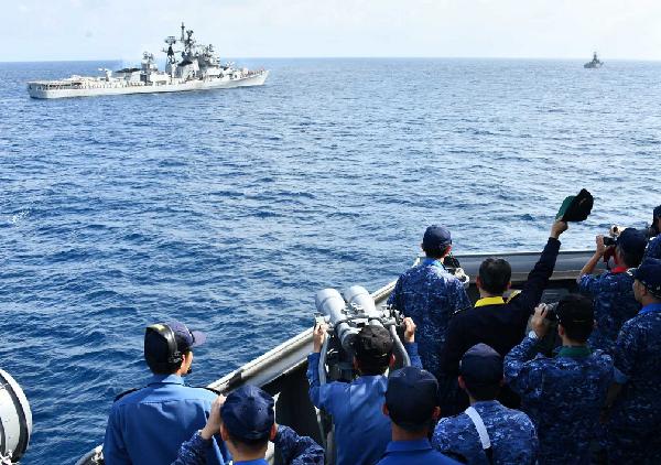 专家点评:印日海上联合演练释放何种信号?