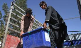 Voting for Afghan parliamentary elections concludes