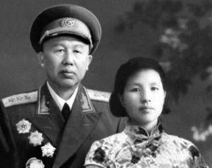 王平与妻子