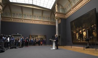 Rembrandt's 'Night Watch' to get restoration in Amsterdam