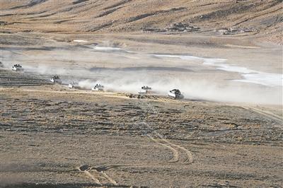 砺兵海拔4700米,他们一刻不松懈