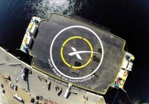 "SpaceX""猎鹰9号""火箭海上着陆平台"