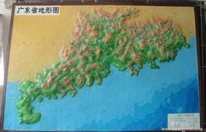 广东地貌图