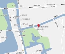 南通纺织博物馆地图
