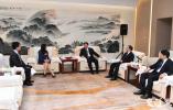 娄勤俭吴政隆会见出席第二届江苏发展大会暨首届全球苏商大会的部分嘉宾