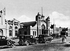 火车站旧影