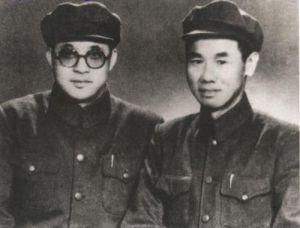 1949年,王建安和陈再道在第一届全国政协会议期间