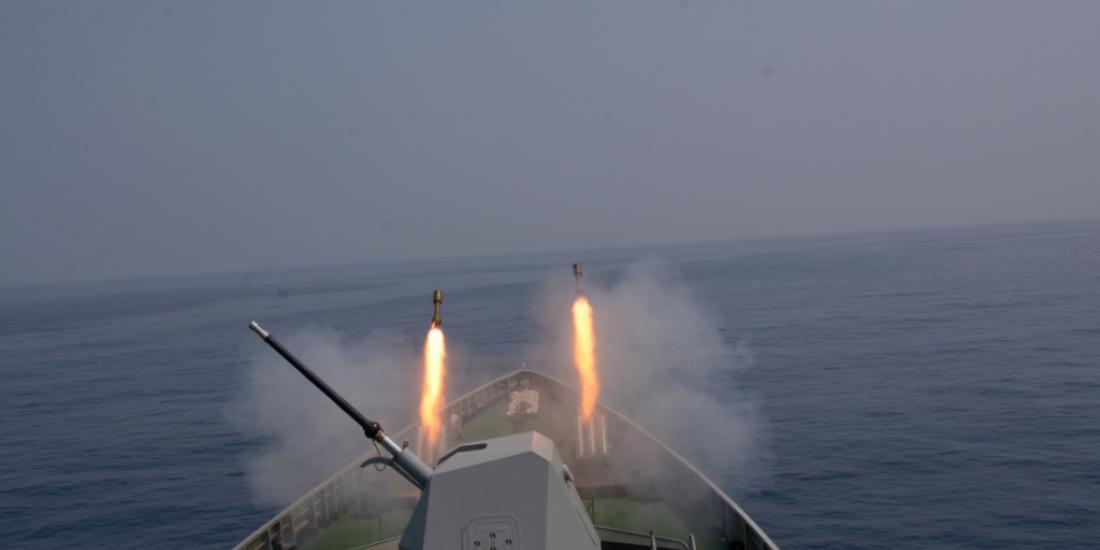 缅甸海军倾巢出动 在孟加拉湾举行演习规模空前