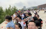 """杭州这所中学一边看潮一边办""""雅集"""",现场来了几千人!"""
