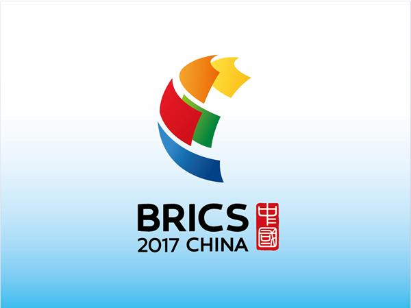 2017年金砖国家领导人会晤会标