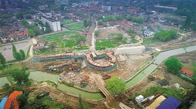 慈城大东门原址重建 将再现古县城东南整体景观格局