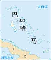 巴哈马地图