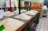 三江超市每天有数百吨大米到货 近两天销量回落