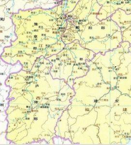 历史地图上的江西