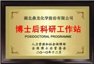 湖北鼎龙化学股份有限公司博士后工作站