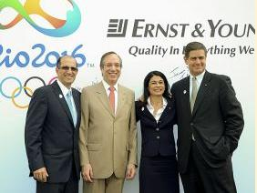 安永会计师事务所被任命为里约2016奥运官 方支持商
