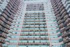 福州一大厦外墙悬挂600台空调室外机 场景震撼