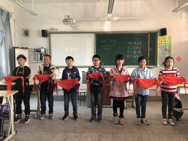 管城区王司李小学开展少先队红领巾学习活动