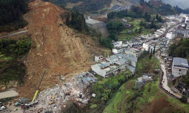Rescue effort after Sichuan slide has some moments of high drama