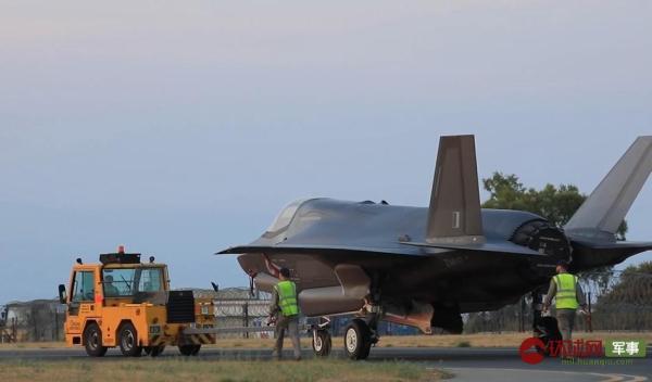 英国F-35战斗机首次投入实战 一颗炸弹都没扔