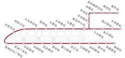 杭州地铁1号线线路图
