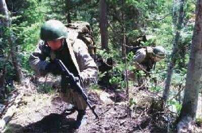 勇者天堂:走进俄山地兵训练中心