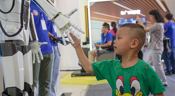 江西:国际移动物联网博览会展示美好生活_新华网