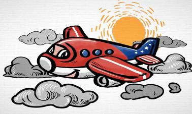 Animation: Tougher take-off for US-made airplanes