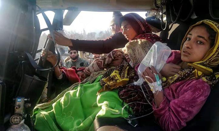 巴控克什米尔地区遭遇严重雪崩 造成至少64人死亡